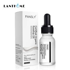 PANSLY Rosehip Oil Anti-Aging Whitening Moisturizer Rose Hip Essential Oil Skin Care Acne Scar Serum Stretch Marks Remover