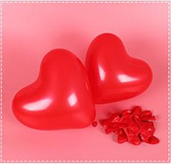 SUEF Red Pink Balloons 10Inch Love Heart Latex Balloons Wedding Helium Balloon Valentines Day Birthday Party Inflatable Balloons