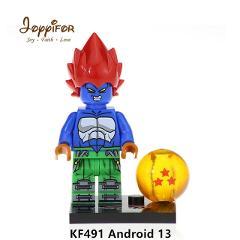 Joyyifor Dragon Ball Z Son Goku Vegeta Bills Android 17 Jiren Minifigure LegoINGlys Building Blocks Bricks Children Kids Toys
