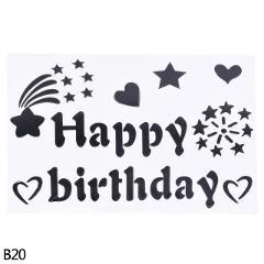 1pc 18/20/24/36inch Bobo Balloon Transparent PVC Balloon Birthday Happy Sticker for Party Favor Air Balloon Decoration Supplies8