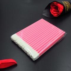 50pcs Make Up Brushes set Cotton Swab Mascara Wands Lip Brush Pen Cleaner Cleaning Eyelash Disposable Makeup Brush Applicators