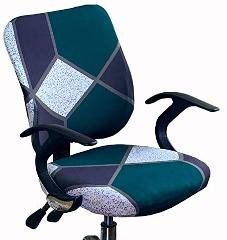 Bestmemories Office Chair Cover Universal Stretch Computer Chair Cover Washable Rotating Chair Slipcover