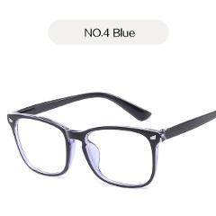 UVLAIK Blue Light Glasses Men Computer Glasses Gaming Goggles Transparent Eyewear Frame Women Anti Blue ray Eyeglasses