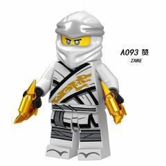 Ninja Figuras Building Blocks Toys Kai Jay Zane Cole Lloyd Nya Misako Skylor Iron Baron Master Wu Bricks Set Movie Figures A094