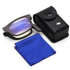 Reading Glasses 100/150/200/250/300/350/400 Degree Portable Glasses Magnifiers Collapsible Ultralight Presbyopic Glasses