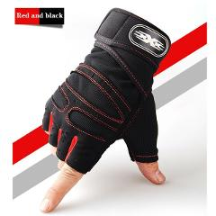 Outdoor Cycling Gloves Half Finger Cycling Gloves Anti-Slip Gel Bicycle Riding Gloves Anti Slip For MTB Road Mountain Bike Glove