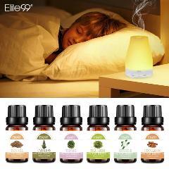 Elite99 Pure Essential Oils Eliminate Sleepiness Humidifier Rosemary Oil Ginger Vanilla Lemongrass Pine Needles Oil Essential