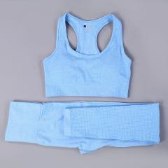 Hot Sale Women Gym Suit Yoga Leggings ropa deportiva mujer Women Sports Yoga Pants gym clothing Yoga Clothing Women Yoga Set