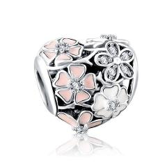Authentic 925 Silver Charms Suits Pandora Bracelet Jewelry Gift Large Collection