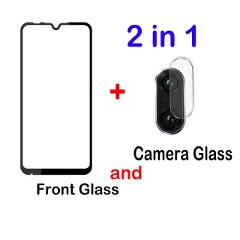 2in1 Protective Glass For Xiomi Redmi 8A 7A Note 7 8 pro 8T Lens Film For Xiaomi Redmi note8 pro note8t Camera Screen Protector