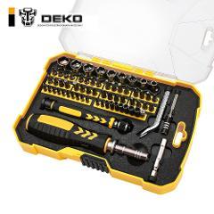 DEKO LSD03 Repair Tool Kit Socket Screwdriver Kit Household Screwdriver Set Magnetic Screwdriver Set for Household