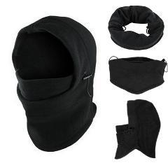 6 in1 Neck Balaclava Winter Face Hat Fleece Hood Ski Mask Warm Helmet Motorcycle Face Mask 2019 #30