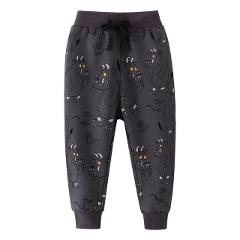 Boys Clothes Baby Kids Trousers Winter Cotton Cartoon Tiger Print Cute Pants for Baby Boys Children Warm Clothing Sweatpants