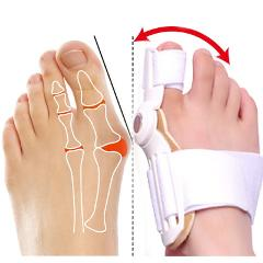 1PCS Hallux Valgus Correction Pedicure Device Bunion Toe Separators Feet Care Corrector Big Bone Thumb Orthotics Foot Care Tool