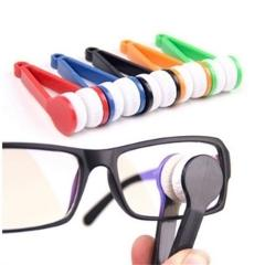 Sun Glasses Eyeglass Microfiber Spectacles Cleaner Brush Cleaning Tool cleaning brush auto cleaning accessories 8.9