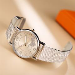 The Latest Top Fashion Ladies Mesh Belt Watch For Womens Wild Lady Creative Fashion Gift Wrist Watch Bracelet Women Watches 2021
