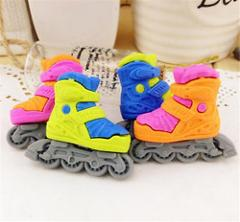 FD3715 Cool Skating Shoe Eraser Rubber Pencil Stationery Cute Child Gift 1pc✿