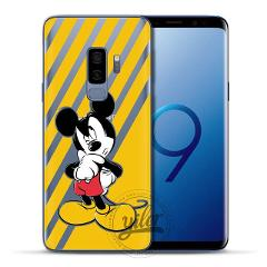 Coque Mi Mouse For Case Samsung Galaxy S9 S10 Case for Galaxy S9 Plus S9 S8 S7 Case Cover for Funda Samsung Galaxy S7 edge S10 e