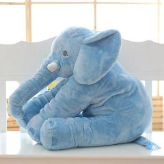 40cm/60cm Large Soft Plush Elephant Doll Kids Sleeping Soft Back Cushion Cute Stuffed Elephant Baby Accompany Doll for Kids Gift