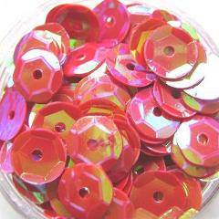 400pcs 6mm DIY Round Sewing Shinny Sequin Craft Clothing Accessories Muti-Color