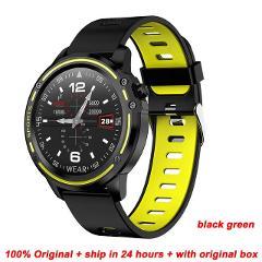 Greentiger New L8 Smart Watch Men ECG + PPG IP68 Waterproof Blood Pressure Heart Rate Fitness Tracker sports Smartwatch VS L5 L7