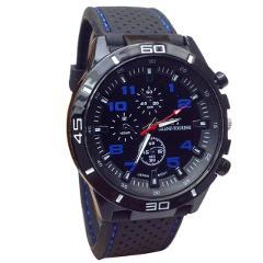 Men's Watch Casual Fashion Business Silicone Sports Watch Military Quartz Watch Holiday Gift часы мужские erkek kol saati 50*