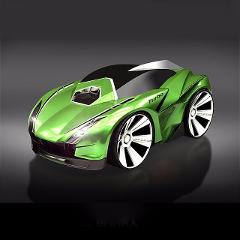 New 1:28 Remote Control Car Racing Toy Car Voice Smart Watch Voice-Activated Watch Rechargeable Radio Drift Car Electric