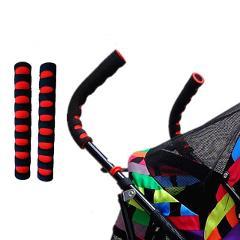 Baby Pram Handle Cover Push Stroller Armrest Case Cart Sleeve EVA Foam Covers Protective Cover yoya Pram Stroller Accessories