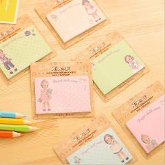Ellen Brook 1 Piece Kawaii Cute Memo Pads Sticky Notes Creative DIY Notepad Filofax Office School Supplies Stationery