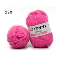 Milk Cotton Yarn Comfortable Wool Blended Yarn Apparel Sewing Yarn Hand Knitting Scarf Hat Yarn crochet  knitting yarn