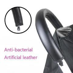2018 Baby stroller Handle PU Leather Pushchair Armrest Case Protective Cover For babyyoya yoya yoyo Pram Stroller Accessories