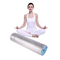 Hiking Camping Silver Waterproof 180x50x0.6cm Aluminium Foam Picnic Yoga Fitness Mats Lightweight Outdoor Exercise Pad Mat Roll