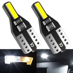 2x For Renault Duster Megane 2 3 Logan Clio Fluence Captur Sandero Laguna W5W LED T10 LED Interior Car Lights Leds for Auto 12V