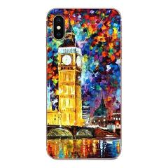 London Bus England Telephone Vintage For Galaxy Alpha Note 10 Pro A10 A20 A20E A30 A40 A50 A60 A70 A80 A90 M10 M20 M30 M40