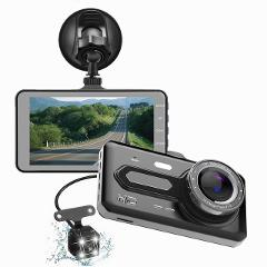 Car DVR  4-inch 1920*1080P touch screen driving recorder single/dual Lens Car Camera Auto Recorder Multi-language switching