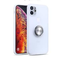 Transparent Armor Phone Case For iPhone 11 Pro Max Finger Ring Magnetic Stand Holder for iPhone 11 Pro 7 8 6 6S Plus XR XS Max X
