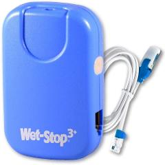 Wet-Stop 3 Blue Bedwetting Enuresis Alarm with Loud Sound and Strong Vibration for Boys or Girls, Proven Solution for Bedwetters
