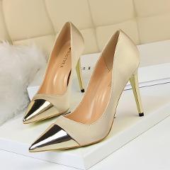 Bigtree Shoes Women Pumps High Heels Shoes Leather Pumps Women Wedding Shoes New Stiletto Women Shoes Pointed Toe Women Heels