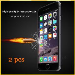 Tempered Glass for iPhone 5 5s 6 6s 7 7p Glass LCD Screen Protector Film Protective Glass for iphone 8 8p x xr  Adhesive Sticker