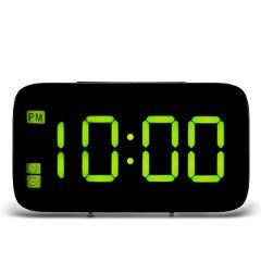 Digital Table Desktop Table Clocks USB Charge LED Alarm Clock LED Display Voice Control Electronic Snooze Backlight