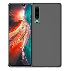 For Huawei P30 Pro P20 Lite Car Holder Magnetic Soft Silicone TPU Case Cover