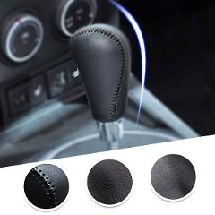 Car Gear Cover PU Leather For Mazda 6 2009-2012 Mazda 3 2010 Mazda Axela 2010 Gear Shift Knob Cover Gear Shift Lever