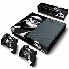 For Xbox one console sticker and 2 controllers sticker for XBOX ONE vinyl sticker for xbox one skin sticker---5191