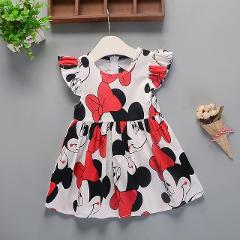 Baby Clothing Baby Girls Dresses Summer New Baby Girl Female Cotton Dress Baby Cotton Floral Princess Tutu Dresses