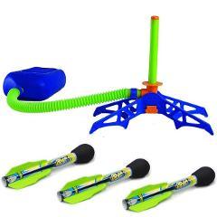 Children's Outdoor Sports Goods Foot Pressure Rocket Launcher Zoom Rocket Launcher Children's Outdoor Toys Nice Gift
