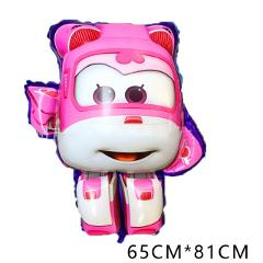 7 style 3D Super Wings Balloon Jett balloons 18 inch Super Wings toys Birthday Party Decorations kids toys Jett globos supplies