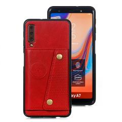 Fashion Wallet PU Leather Stand Silicone Phone Case For Samsung Galaxy A6 A7 J4 J6 Plus 2018 With Card Slot Flip Cover Fundas