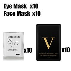 Face Lifting Mask Skin Lift Tape Hydrogel Eye Patch Anti Wrinkle Face Pads Skin Tightening Mask with Eyepads Beauty Care