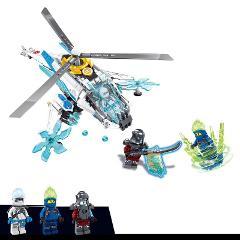 New 2019 Ninjagoed ShuriCopter Spinjitzu Building Blocks Kit Bricks Classic Movie Ninja Model Kids Toys For Children gift