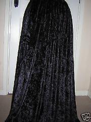 Vintage Velvet Long Skirts Womens Red Black 2017 High Waist Pleated A-line Suit Custom Plus Size 6XL 7XL Party Maxi Skirt
